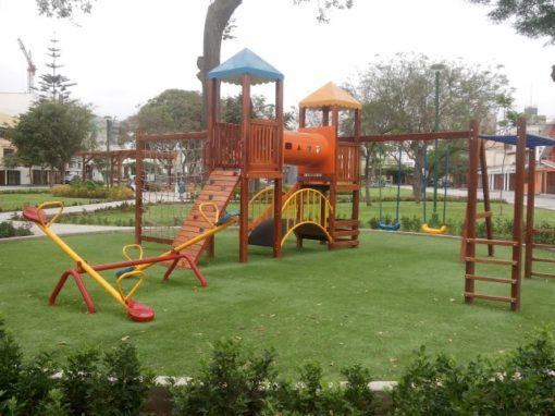 Municipalidad de San Borja Parque Grecia